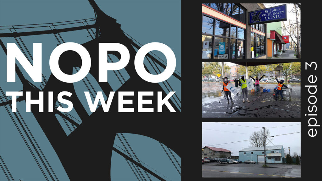 Thumbnail image of Episode 3 of the NOPO This Week podcast with stories about Dr. Peter Davis, Trash and Litter Pickup and NW Metals.