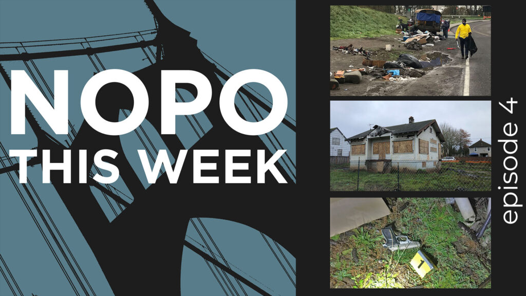 Episode 4 of the NOPO This Week podcast. In this episode we cover stories about Neighbors Helping Neighbors, Zombie Homes, and Increased Gun Violence